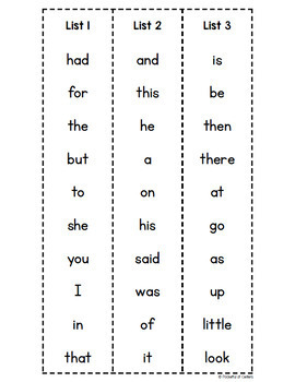 Penguins Sight Word Pull-Thru's