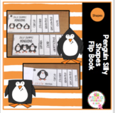 Penguin Silly Shapes Flip Book