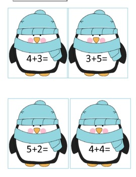 Penguin Simple Leveled Addition