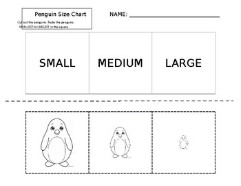 Penguin Size Chart