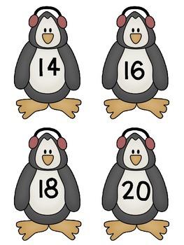 Penguin Skip Count Center