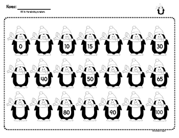 Penguin Skip Counting