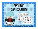 Penguin Skip Counting By 5's