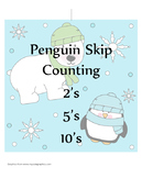 Penguin Skip Counting Puzzles
