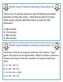 Penguin Slide Multiplication (Question Set A)