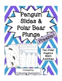 Penguin Slides and Polar Bear Plunge: Polar Regions Math (Arctic/Antarctic)