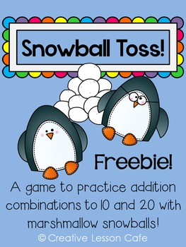 Addition and Subtraction Math Center {Freebie}