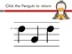 Penguin Solfege Reading Practice Interactive Game {do}