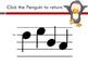 Penguin Solfege Reading Practice Interactive Game {re}
