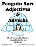 Penguin Sort - Adjectives and Adverbs 22 of each