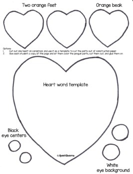 Penguin Speech Therapy Craft {articulation craftivity}