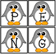 Penguin Spelling: How many new words can you spelling from the word PENGUINS