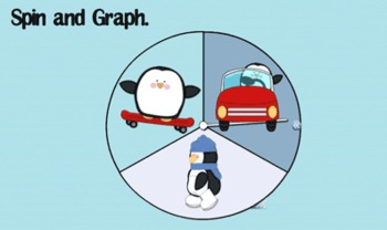 Penguin Spin and Graph for Interactive SmartBoard (Notebook 11)