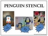 Penguin Stencil