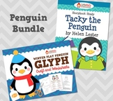 Tacky the Penguin Story Study and Glyph Craftivity Bundle