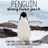 Penguin Story Time: Visual Supports and Comprehension Questions
