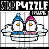 Penguin Free Strip Puzzle
