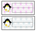 Penguin Student Name Tags
