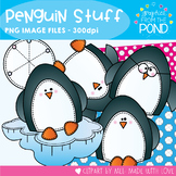 Penguin Stuff - Winter Snowmen Clipart Set for Teachers