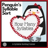 Penguin Syllable Sort