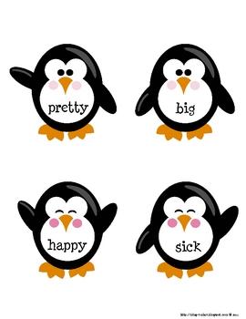 Penguin Synonym Snatcher Write Around the Room