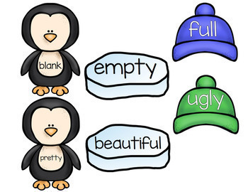 Penguin Synonyms and Antonyms Center