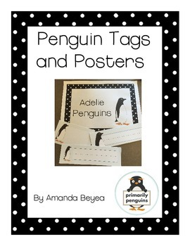 Penguin Tags and Posters