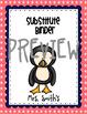 25 Penguin Teacher Binder Covers EDITABLE