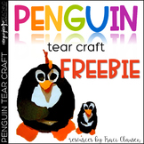 FREE Penguin Tear Craftivity