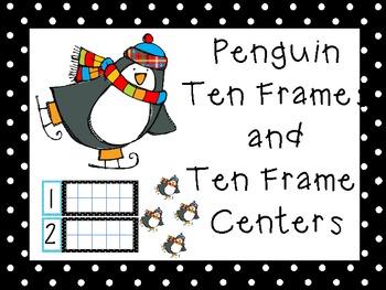 Penguin Ten Frame Center
