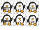 Penguin Ten Frame Match