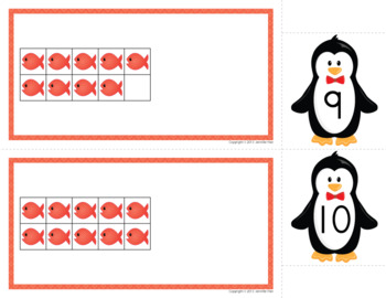 Penguin Math Activities for Preschool and Kindergarten | Winter Math Activities