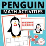 Penguin Math Activities for Preschool and Kindergarten | W