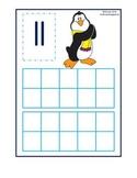 Penguin Ten Frames 11-20