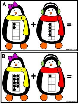Penguin Ten Frames Add The Room & Memory Cards