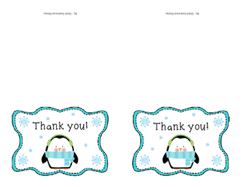 Penguin Thank You Notes