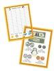 Penguin Theme Calendar Math Bulletin Set