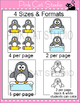 Penguins Name Tags and Labels