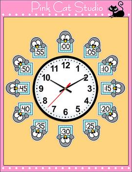 Penguin Clock Labels