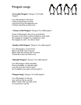 Penguin Theme: Curriculum Ideas for Preschool or Kindergarten