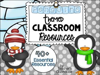Penguin Theme Decor Pack