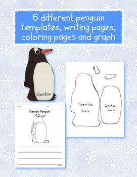 Penguin Theme Kindergarten Learning Activities