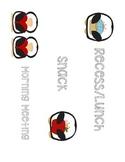 Penguin Theme Schedule Cards
