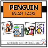 Penguin Themed Celebration Tags- Winter Classroom Management Tool