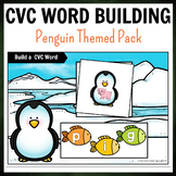 Penguin Themed CVC Word Building Pack