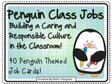 Penguin Themed Class Jobs for Primary *40 jobs PLUS written out descriptions