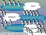 Penguin Themed Formative Assessment