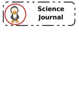 Penguin Themed Labels for Folders and Notebook Bins