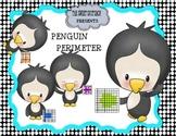 Penguin Themed Perimeter Math Center