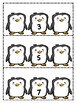Penguin Themed What's the Missing Number Math Center
